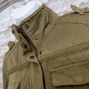 BKE Jackets & Coats - BKE Outerwear Army Olive Green Military Jacket